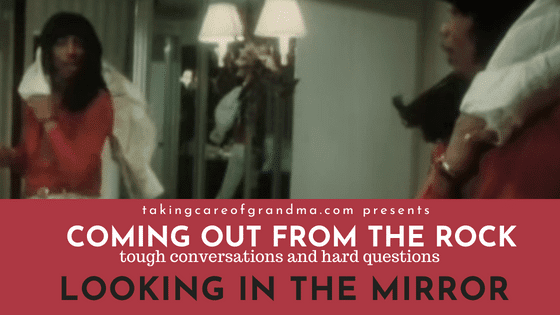 Coming out From the Rock: Looking in the Mirror