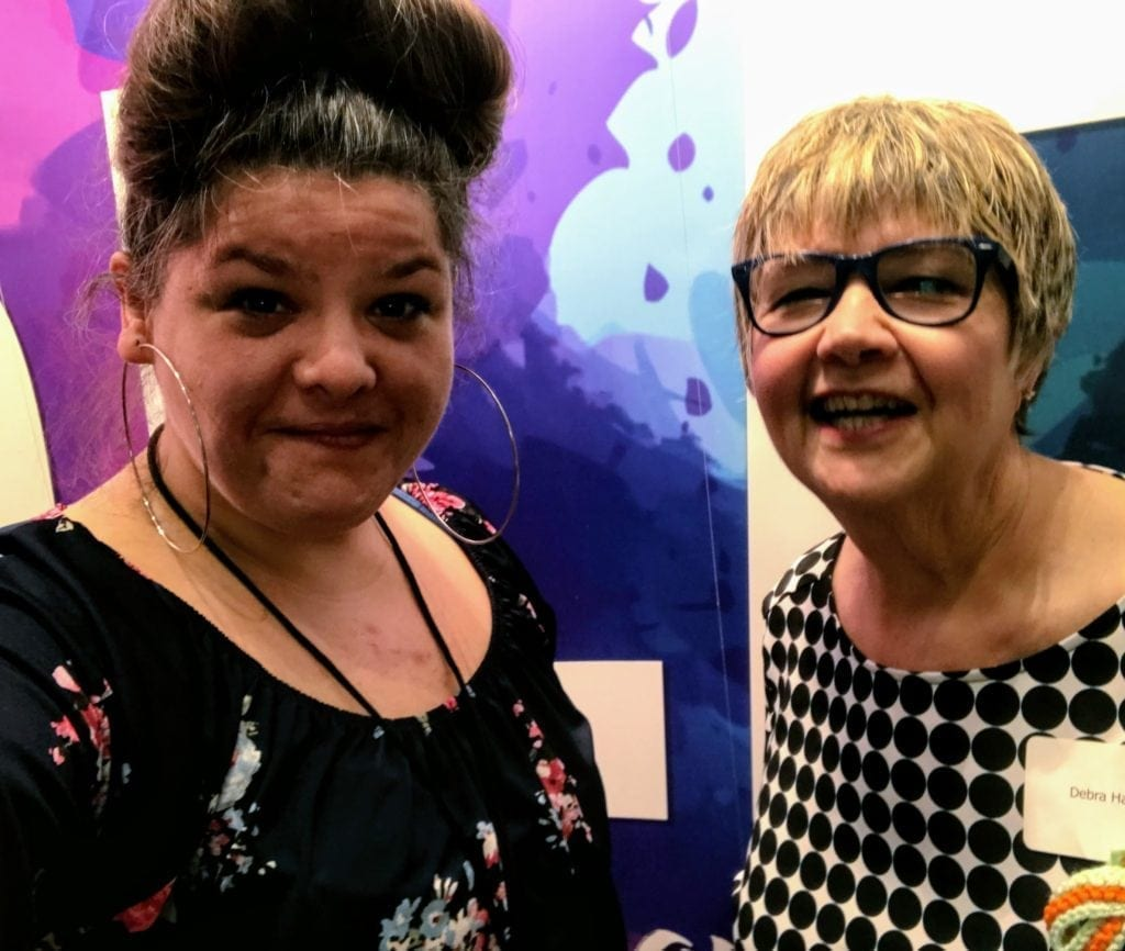 Photo: National Caregiving Conference Deb Hallisey, Advocate for Mom and Dad, and Rachel