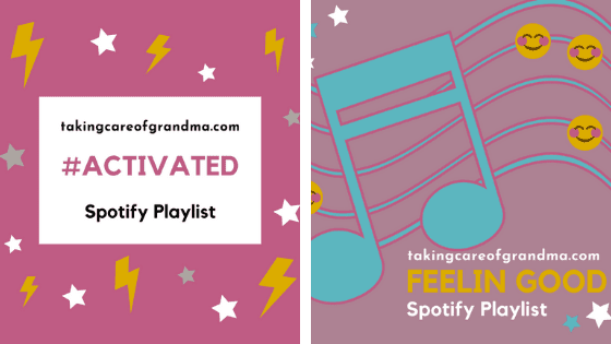 Banner: ACTIVATED and Feeling Good Playlists for Party Favor Friday
