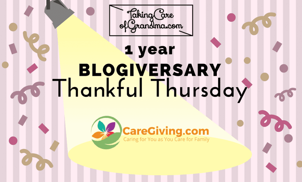 THANKFUL THURSDAY: Caregiving.com – a must-have resource for all family caregivers