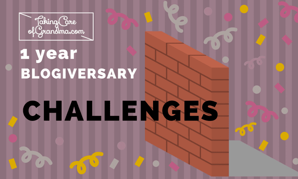 One Year of Blogging: Challenges