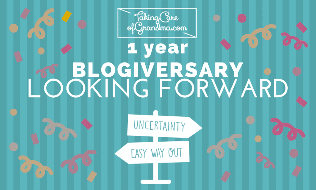 One Year of Blogging: Looking Forward