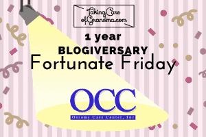 TCG BLOGIVERSARY: FORTUNATE FRIDAY