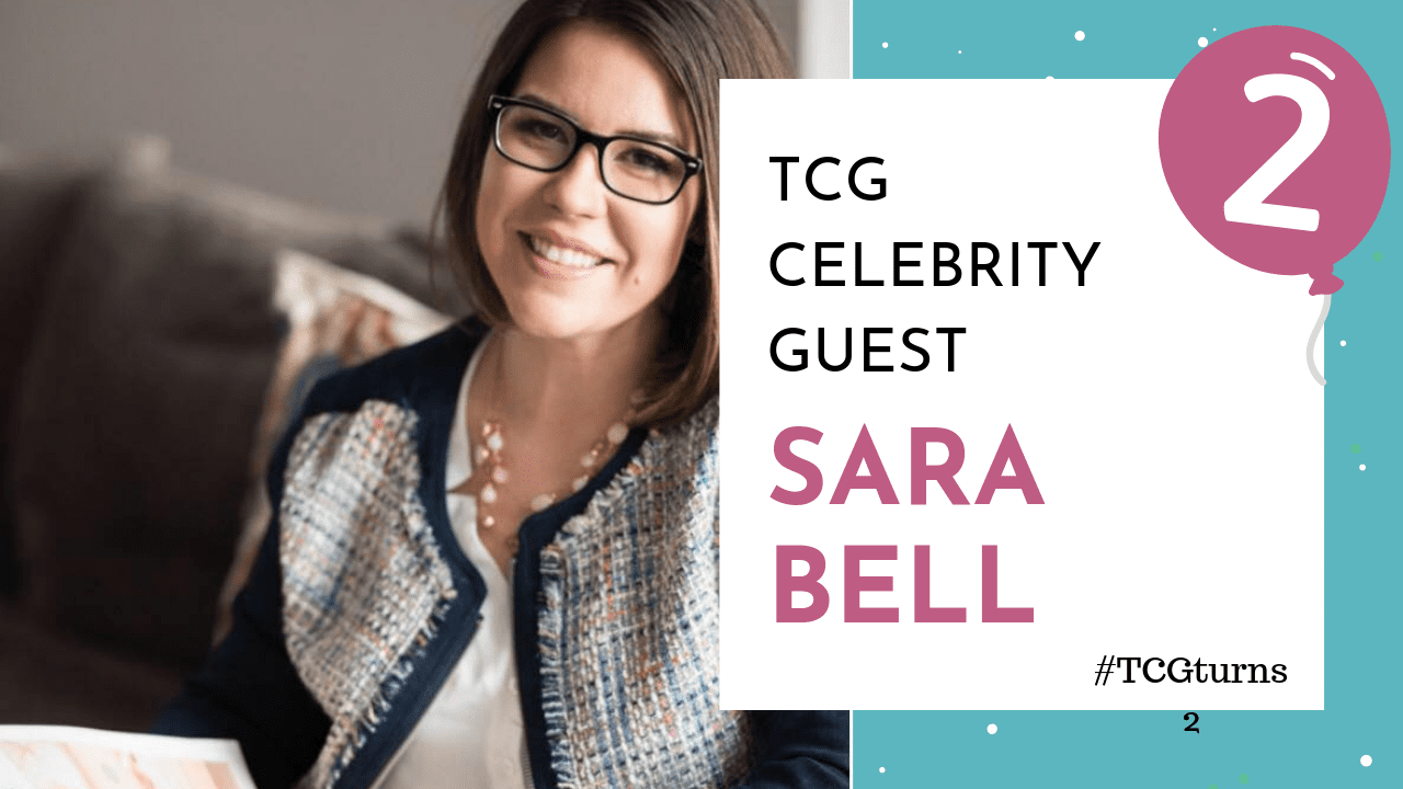 TCG Blogiversary Video Cover - Sara Bell
