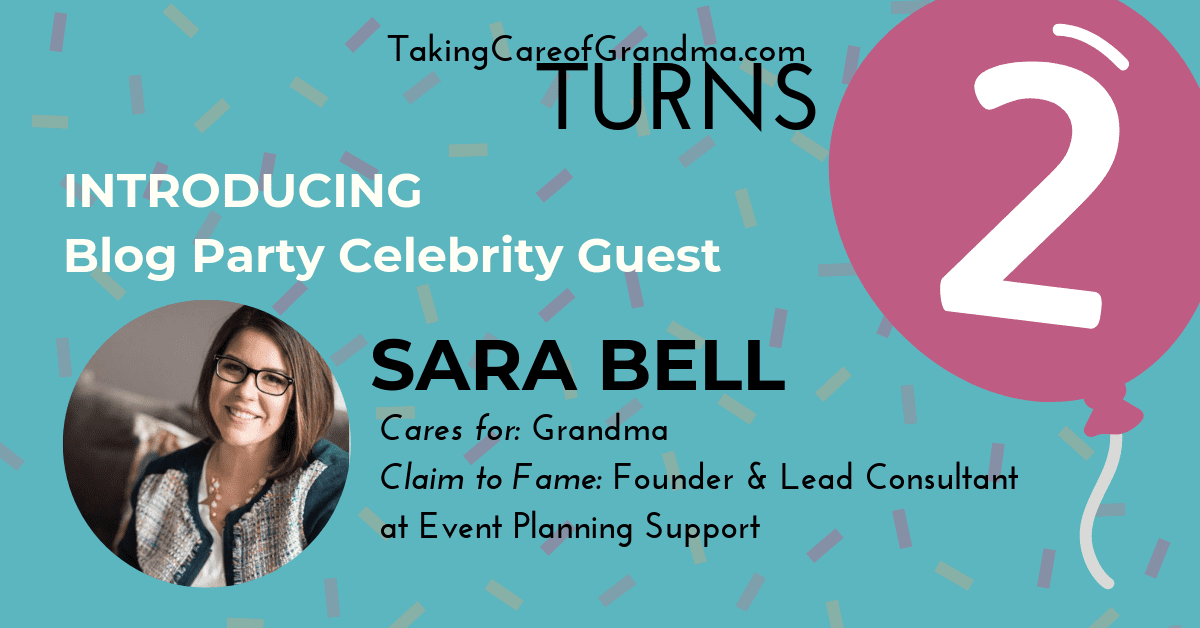 TCG Turns 2 Introducing Blog Party Celebrity Guest Sara Bell