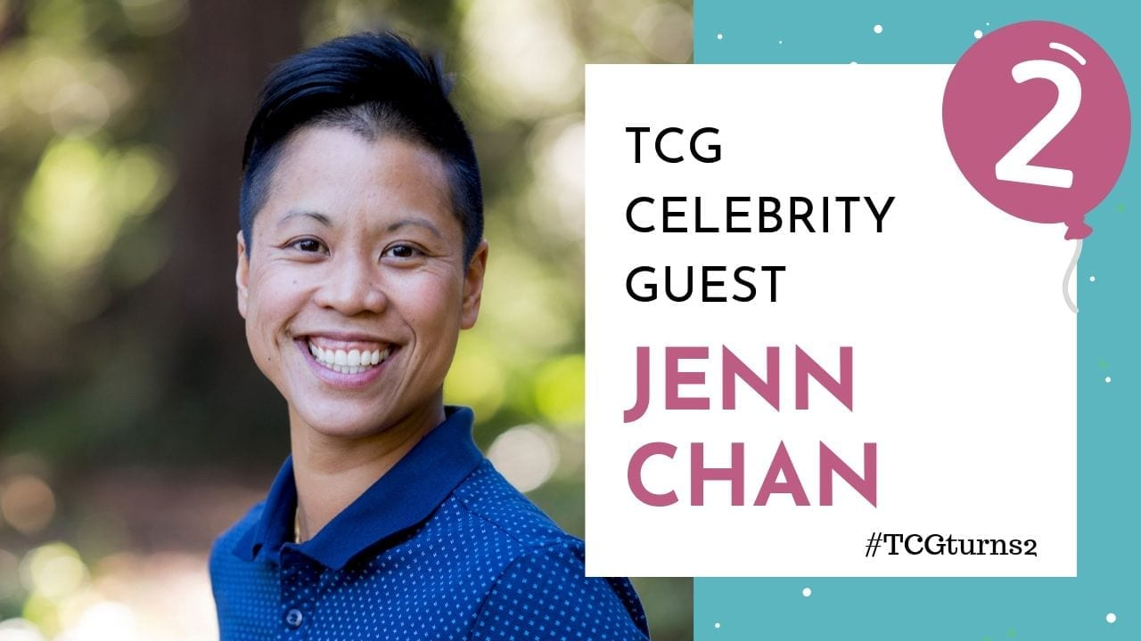 TCG blogiversary video cover - jenn chan