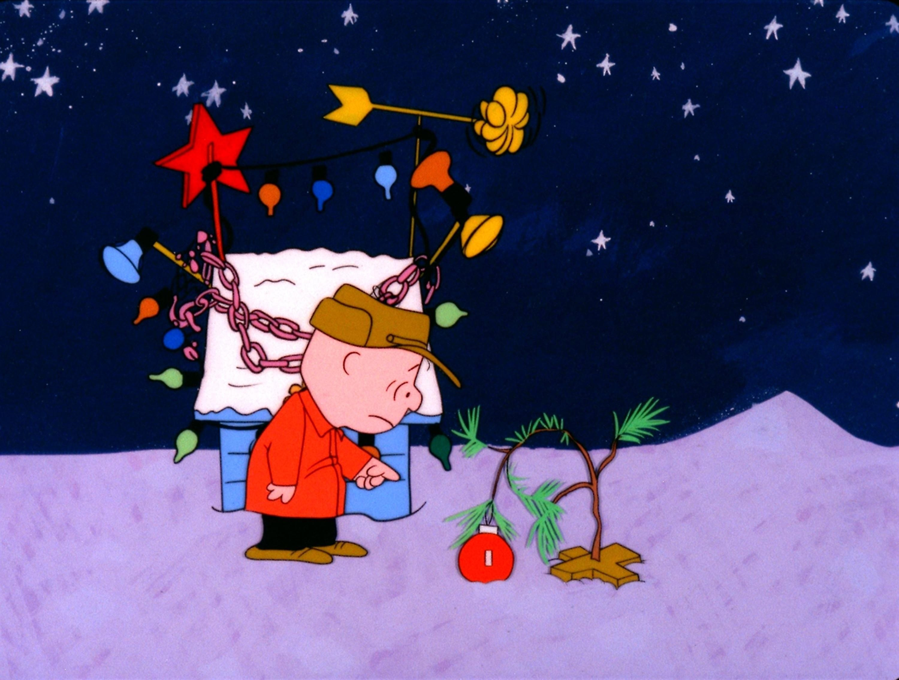 Screenshot: Charlie Brown Christmas Tree