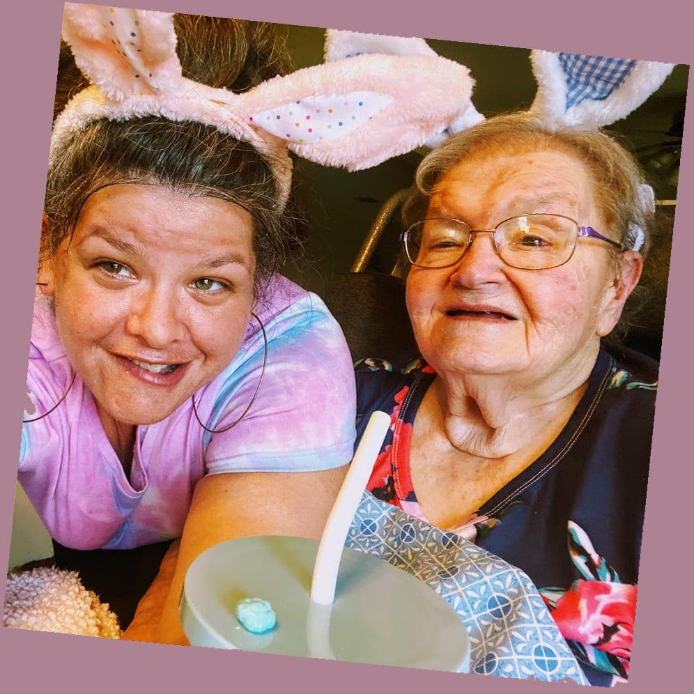 Rachel and her grandmother